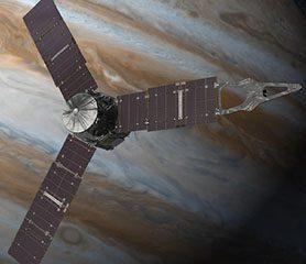 ยานอวกาศจูโนใกล้จะถึงดาวพฤหัสแล้ว