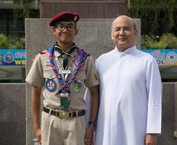 ผู้แทนลูกเสือไทยร่วมงานชุมนุมลูกเสือนานาชาติ