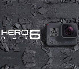 เปิดตัว GoPro HERO6 Black ถ่าย 4K 60fps!!