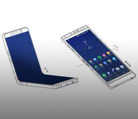 Samsung Galaxy X (สมาร์ทโฟนหน้าจอพับได้) รุ่นต้นแบบ