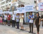 ร.ร.เซนต์ดอมินิกรักประชาธิปไตย เชิญชวนคนไทยใช้สิทธิ์เลือกตั้งฯ