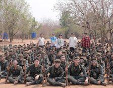 เยี่ยมชมการฝึก-ให้กำลังใจนักศึกษาวิชาทหาร